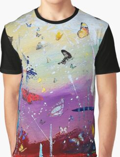 Butterflies and Me Graphic T-Shirt