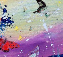 Butterflies and Me Sticker