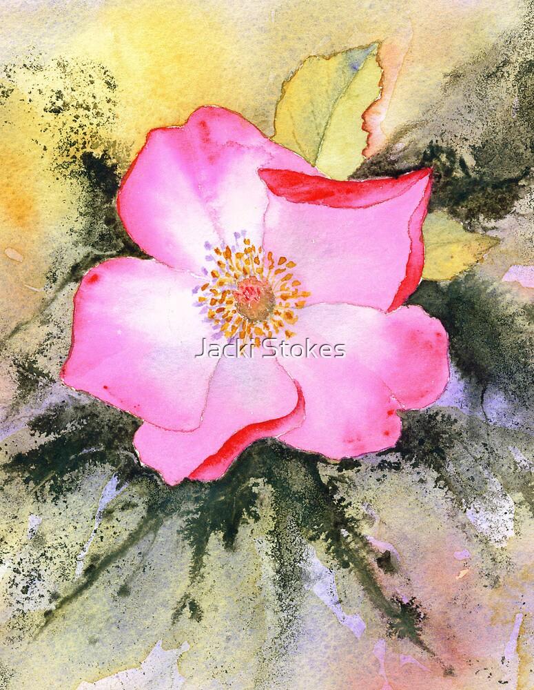 Rosemary's Rose (Original sold) by Jacki Stokes