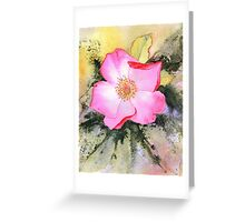 Rosemary's Rose (Original sold) Greeting Card