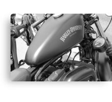 grey harley Canvas Print