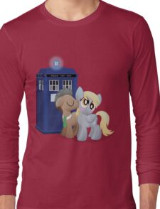 Derpy and the Doctor (My Little Pony: Friendship is Magic) Long Sleeve T-Shirt
