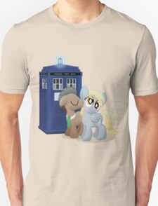 Derpy and the Doctor (My Little Pony: Friendship is Magic) Unisex T-Shirt