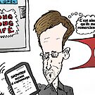 Edward SNOWDEN caricature politique by Binary-Options