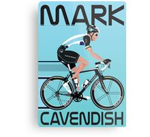 Mark Cavendish Metal Print