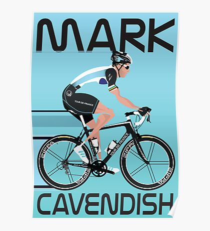 Mark Cavendish Poster