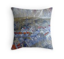 Stunning Staithes Throw Pillow