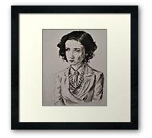 Eva Green Portrait  Framed Print