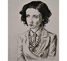Eva Green Portrait  Photographic Print