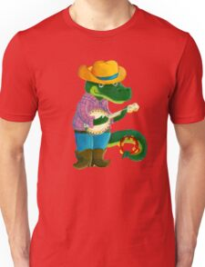 The Banjo Alligator Unisex T-Shirt