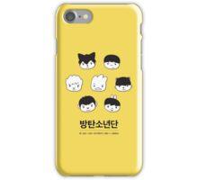 BTS Hip Hop Monsters iPhone Case/Skin