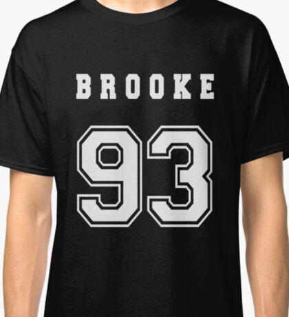 BROOKE - 93 // White Text Classic T-Shirt