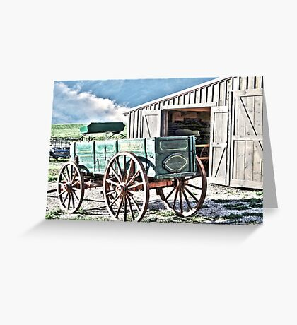 Midwest Buggy and Barn Greeting Card