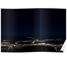 Spectra from Mount Wellington Poster
