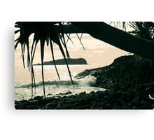 cook island dreaming ... Canvas Print