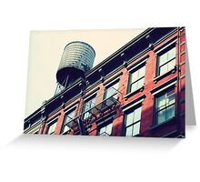 New Yorker House Wall Greeting Card
