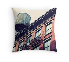 New Yorker House Wall Throw Pillow