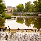 Old Mill on the Ille et Vilaine River in Brittany France by Buckwhite