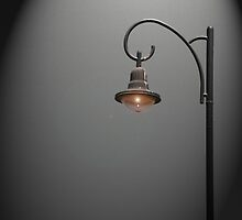 Lonely Street Light at Dark  by ibadishi