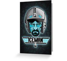 ICEMAN Greeting Card