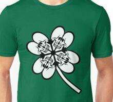 cloverleaf skull /quadrifoglio teschi Unisex T-Shirt