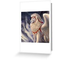 Light on the Wind Greeting Card