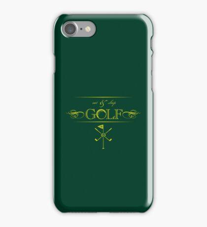Eat, Sleep & Golf VRS2 iPhone Case/Skin