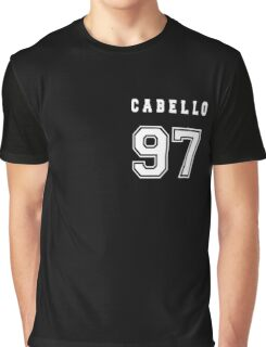CABELLO - 97 // White Text Graphic T-Shirt