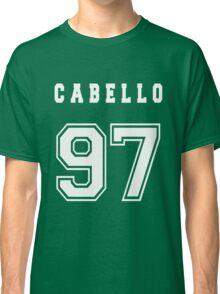 CABELLO - 97 // White Text Classic T-Shirt