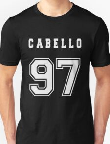 CABELLO - 97 // White Text Unisex T-Shirt