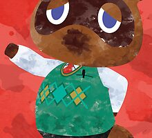 Tom Nook - New Leaf by quigalchemist