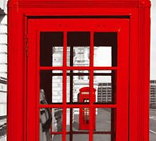 phone box by tabaslimo