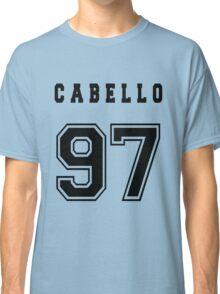 CABELLO - 97 // Black Text Classic T-Shirt