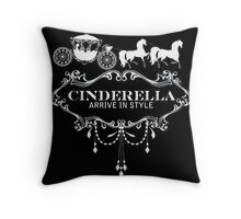 Fashionably Late Throw Pillow