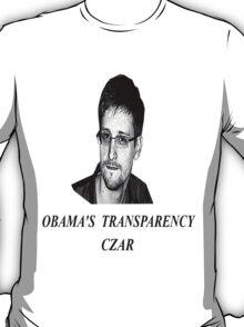 Edward snowden transparency czar T-Shirt