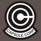 DBZ - Capsule Corp Logo by Loftworks