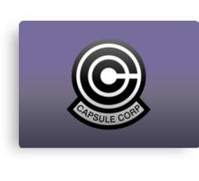 DBZ - Capsule Corp Logo Canvas Print