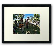 James Cannon & Thom Framed Print