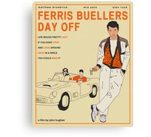 Ferris Buellers Day Off Canvas Print