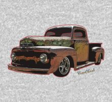 Ratty Ford Pickup T-Shirt Kids Clothes