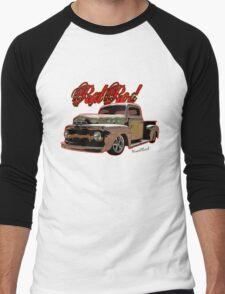Ford Pickup Rat Rod T-Shirt Men's Baseball ¾ T-Shirt