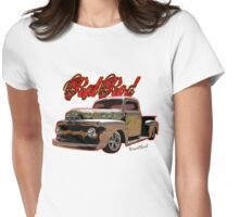 Ford Pickup Rat Rod T-Shirt Womens Fitted T-Shirt