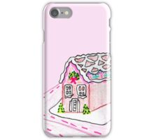 Pink Gingerbread House iPhone Case/Skin