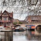 Folly Bridge, Oxford by KarenM