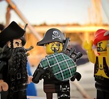 Pirate Practice: Bagpipe Playing by bricksailboat