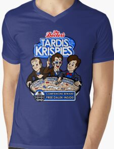 Tardis Krispies Mens V-Neck T-Shirt