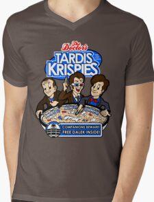 Tardis Krispies Mens V-Neck T-Shirt