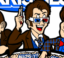 Tardis Krispies Sticker