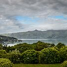 View on Akaora village by 29Breizh33