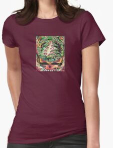 Turn on Your Holiday Love Light 1 - Design 1 Womens Fitted T-Shirt
